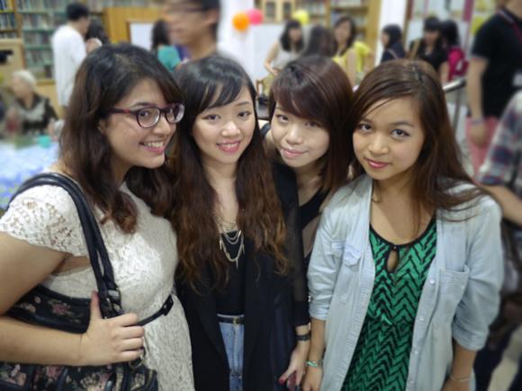 Aalya, Isa, Stacy, Me!