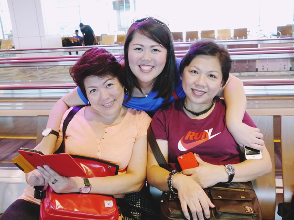 Irene Aunty, Germaine, Momma