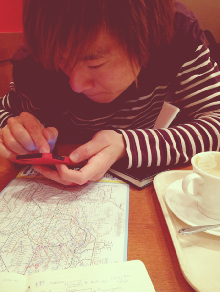 The person I owe the trip to. T_T